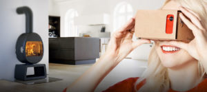 Application mobile réalité virtuelle Jotul
