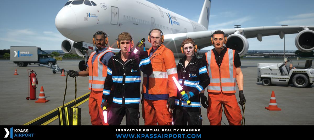 Logiciel réalité virtuelle Kpass Airport