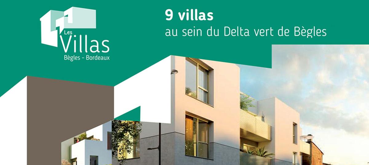 Application mobile 3D Les villas